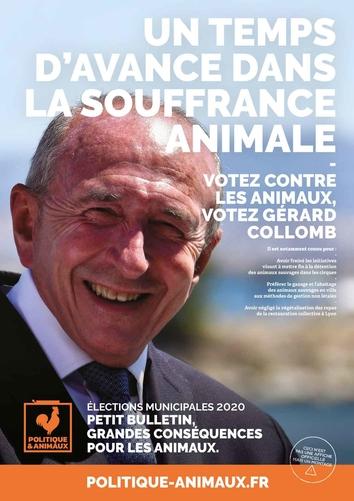 Gérard Collomb sur Politique & Animaux