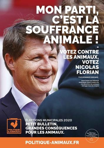 Nicolas Florian sur Politique & Animaux