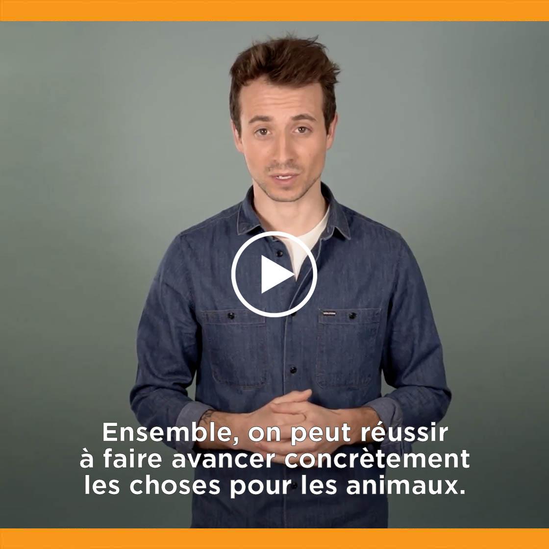 Hugo Clément présente le référendum d'initiative partagée