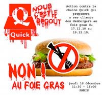 Quick, foie gras