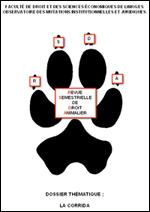 Revue Semestrielle de Droit Animalier