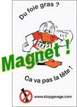 magnet anti-foie gras