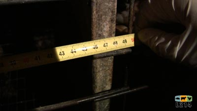 mesure d'une cage