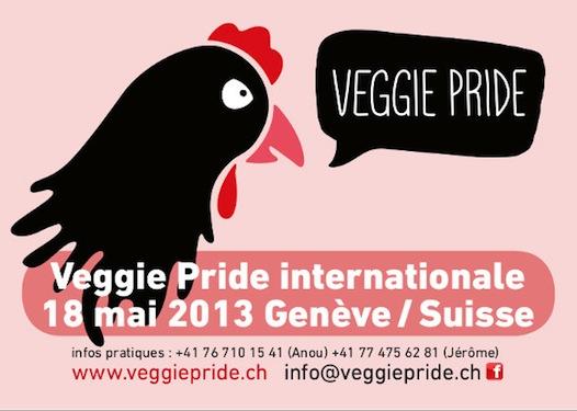 Veggie Pride à Genéve le 18 mai