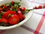 Salade printanière rouge-verte