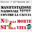 Manifestation contre la chasse en Italie