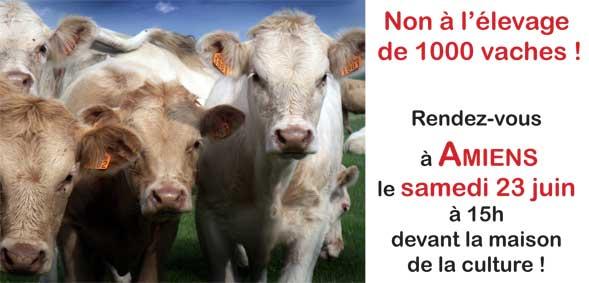 Manifestation à Amiens