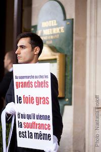Action contre le foie gras