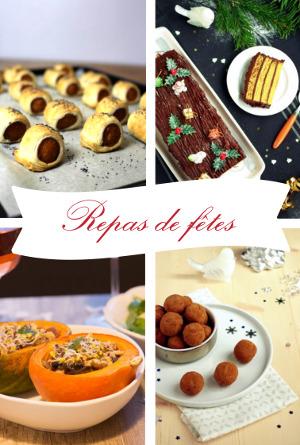 Sélection de recettes de fêtes