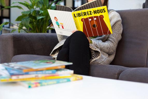 Des livres pour enfants sous le sapin!