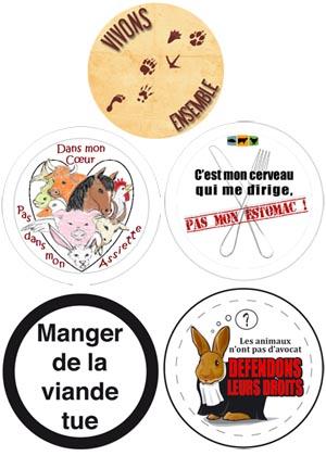 badges lauréats du concours L214