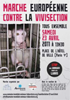 Marche contre la vivisection
