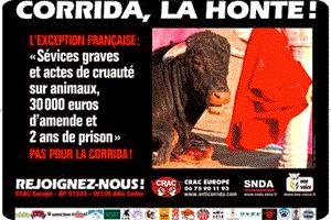 Affiche anti-corrida