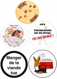 Badges animaux