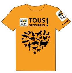 T Shirt Tous sensibles