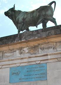 Stèle pour les animaux