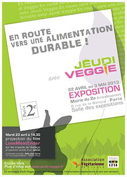 Jeudi Veggie, l'expo