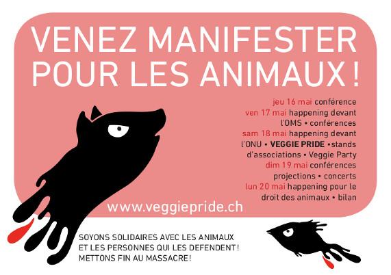 Véggie Pride : 1ere internationale à Genève 18 Mai 2013 Veggie-pride-2