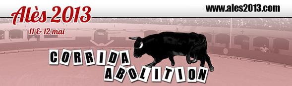 Manifestation contre la corrida les 11 et 12 mai à Alès