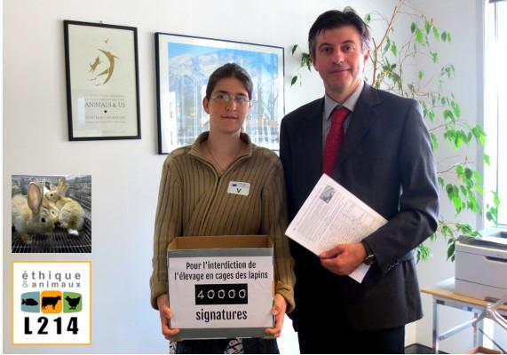 Remise de la pétition à la Commission européenne