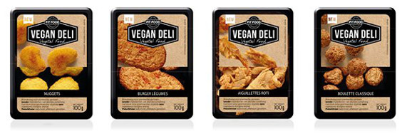 nuggets steaks vegan deli monoprix