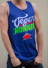 Commander le t-shirt Vegan Runner
