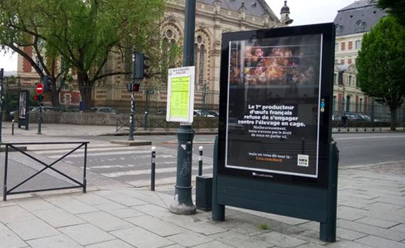 Affiche Avril à Rennes