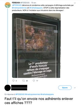 Tweet FRSEA Bretagne